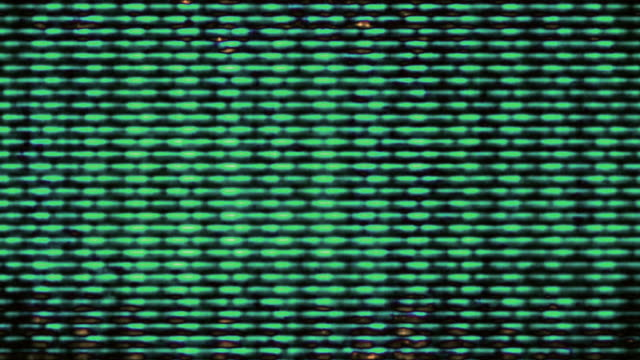 TV Noise flickers, rolls and shifts (Loop).