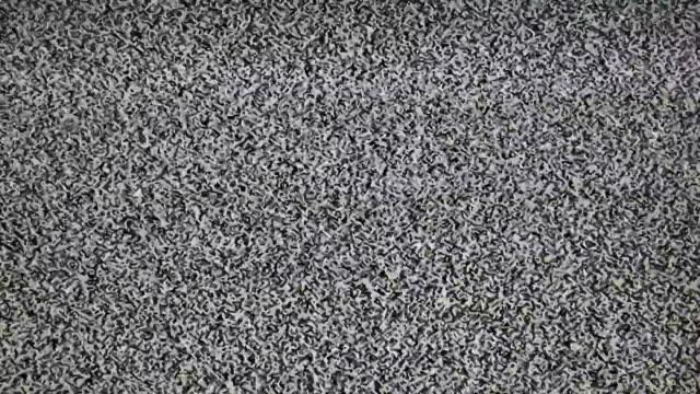 TV Noise Static