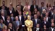 Nominees class photo at the 88th Annual Oscars® Nominees Luncheon at The Beverly Hilton Hotel on February 08 2016 in Beverly Hills California