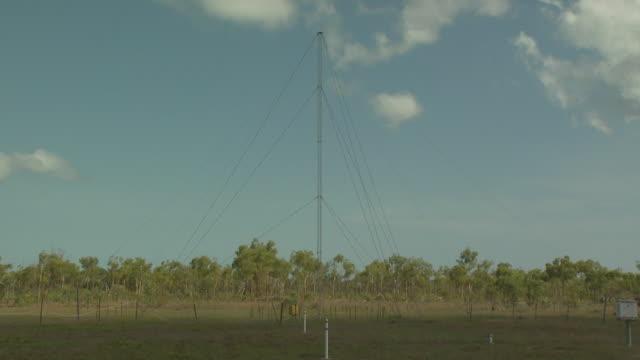 Non Directional Beacon (NDB) antenna, Mungalalu Truscott Airbase, WA, Australia