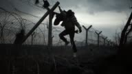 Non Syrian refugees caught recently in Macedonia face their own deportation methods on the Idomeni GreekMacedonian border At a point along no man's...