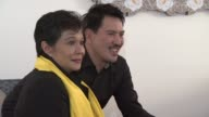 Nora Aunor Brillante Mendoza at Thy Womb Interviews 69th Venice Films Festival on September 06 2012 in Venice Italy