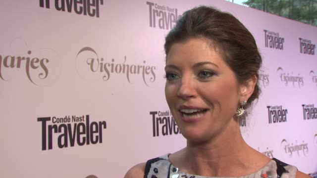 Norah O'Donnell on what keeps you busy at Conde Nast Traveler Celebrates 'The Visionaries' And 25 Years Of Truth In Travel in New York 09/18/12