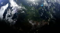 North America and USA seen from space