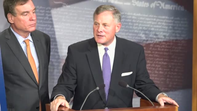 North Carolina Senator Richard Burr tells reporters that the committee had hit a wall on several occasions and attempting to contact Christopher...