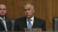 North Carolina Senator Thom Tillis asks nominee for director of the Federal Bureau of Investigation Christopher Wray about equitable sharing and...