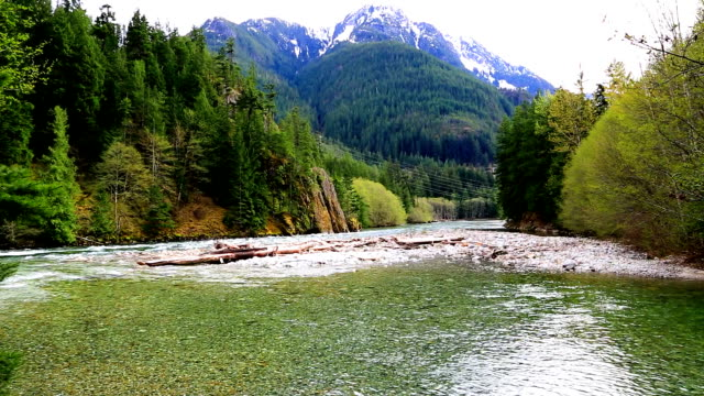 North Cascade in Spring.
