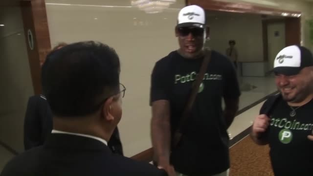 Former US basketball superstar Dennis Rodman on Tuesday arrived in North Korea saying he will try to 'open the door' at a time when regional tensions...