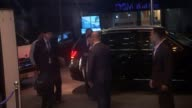 North Korea responds with defiance to new international sanctions PHILIPPINES Manila NIGHT Ri Yongho out of car and returning to building