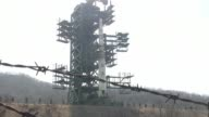 North Korea's longrange rocket is on its launch platform AFP reporters said Sunday as the regime again insisted it was to send a peaceful satellite...