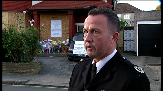 investigation points to faulty freezer as the cause ENGLAND North London Neasden EXT Reporter to camera Sean Bennett LIVE interview SOT talks of...