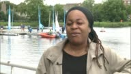 North London pupils are first state school to enter Fastnet race ENGLAND London Stoke Newington West Reservoir Siobhan Patterson interview SOT