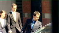 Middlesbrough Teesside Crown Court Mark and Anthony Darwin along and into car then away
