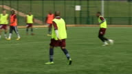 Ikechi Anya ENGLAND Northamptonshire Northampton EXT Ikechi Anya training with teammates Anya interview SOT Just wanted an opportunity and thankfully...