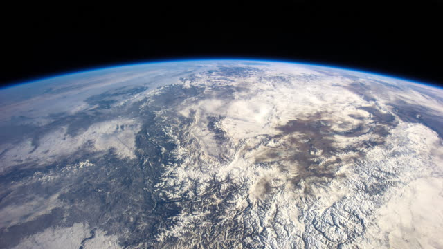 Northern Africa and Asia - Timelapse from ISS