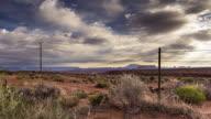 Northern Arizona Desert Landscape - Motion Control Timelapse.