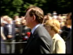 David Trimble resignation ITN FRANCE Somme David Trimble MLA towards past with others during service to commemorate the Battle of the Somme CMS...