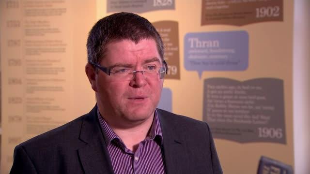 Northern Ireland power sharing deadlock over language issue Former President Bill Clinton intervenes Location unknown Ian Crozier interview SOT Board...