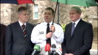 Rioting in Belfast Peter Robinson and Martin McGuinness press conference Chief Constable Matt Baggott press conference SOT Grateful for the...