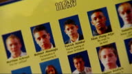 victims named / police investigation INT Mete Karami setup looking through school yearbook and interview SOT