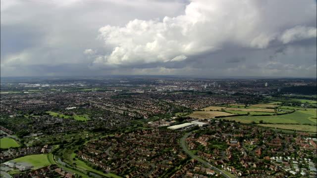 Nottingham  - Aerial View - England, Nottingham, United Kingdom