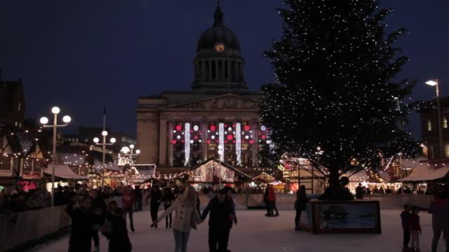 Nottingham Christmas Market, Nottingham, Nottinghamshire, United Kingdom