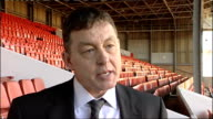 Davies interview on appointment ENGLAND Nottingham City Ground EXT Billy Davies interview on his appointment SOT