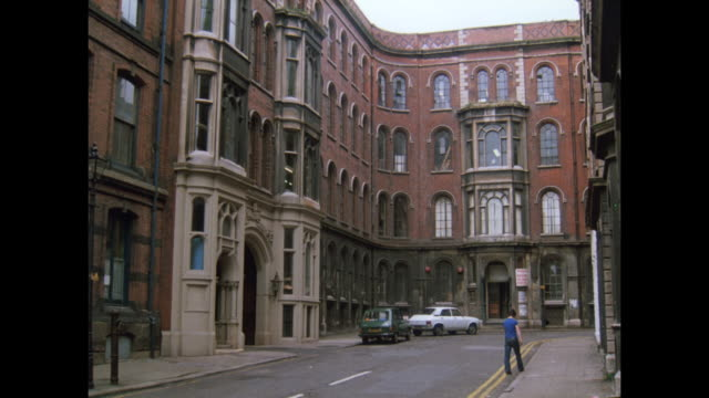 1981 - Nottingham lace industry