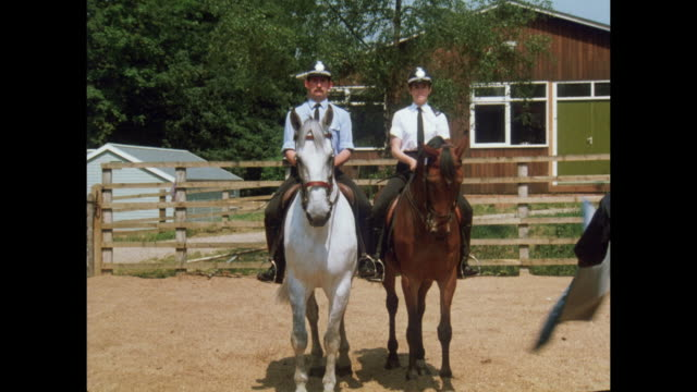 1981 - Nottingham mounted police headquarters