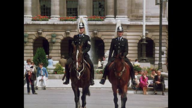 1981 - Nottingham mounted police