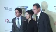 BJ Novak Sarah Silverman Bob Saget at the Scleroderma Research Foundation's 'Cool Comedy Hot Cuisine' at Beverly Hills CA