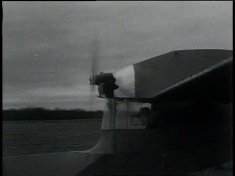 November 26, 1931 TS tail-first plane taking off / Springfield, Massachusetts
