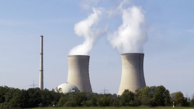 Nuclear Power Station Cinemagraph