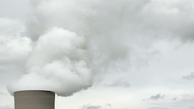 Nuclear Power Station Cooling Tower