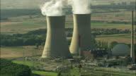 AERIAL Nuclear power station, Hergoslausen, Bavaria, Germany