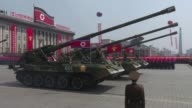 Nucleararmed North Korea marks the 85th anniversary since the founding of its army