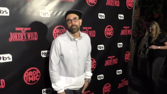 DJ NuMark at TBS' Drop the Mic and The Joker's Wild Premiere Party at Dream Hotel on October 11 2017 in Hollywood California
