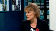Number of young people contacting charities about suicide doubles ENGLAND London GIR INT Esther Rantzen LIVE STUDIO interview on rise in number of...