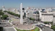 MS, HA Obelisk in the Plaza de la Republica / Obelisco de Buenos Aires / Buenos Aires, Argentina