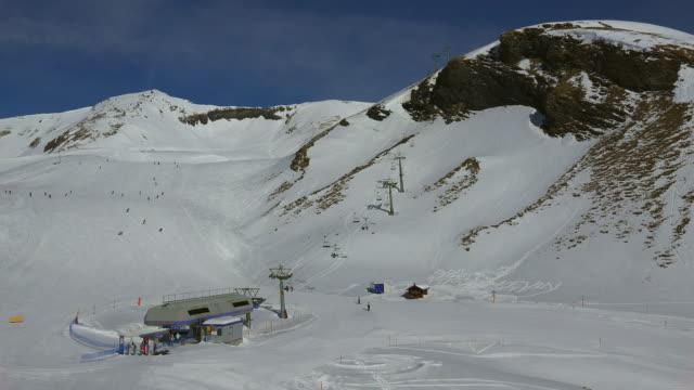 Oberjoch Skilift, Grindelwald-First, Grindelwald, Bernese Alps, Switzerland, Europe