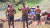 Obstacle Race Spartan entrants pushed to limits Celebrating the finish line