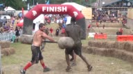 Obstacle Race Spartan entrants pushed to limits Gladiators wack finishers