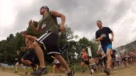 Obstacle Race Spartan entrants pushed to limits Start from low angle