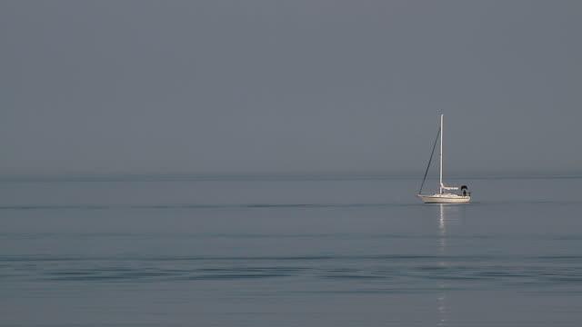 Ocean Sail Boat