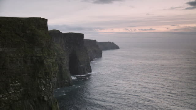 Ocean Sunset Cliffs of Moher