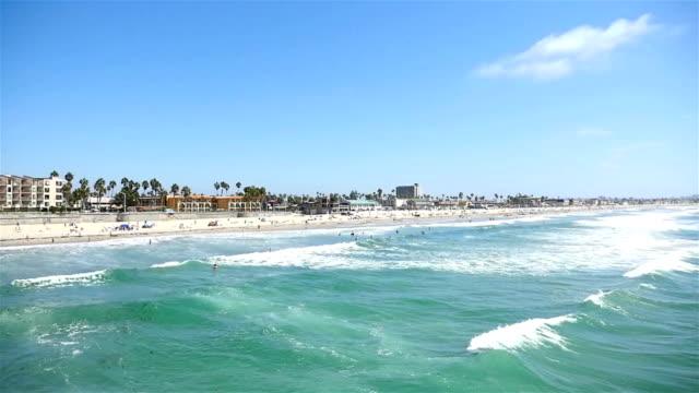 Ocean view in San Diego-California in 4K