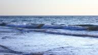 Ocean waves slow-motion