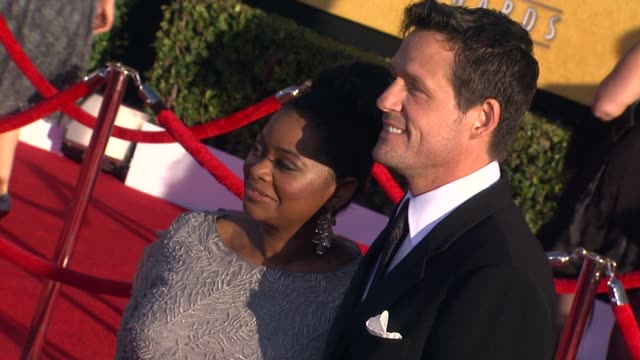 Octavia Spencer at 18th Annual Screen Actors Guild Awards Arrivals on 1/29/2012 in Los Angeles CA