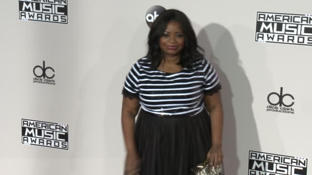 Octavia Spencer at 2016 American Music Awards at Microsoft Theater on November 20 2016 in Los Angeles California