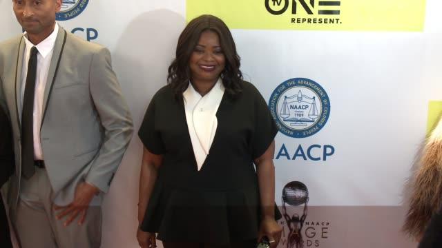 Octavia Spencer at 48th NAACP Image Awards at Pasadena Civic Auditorium on February 11 2017 in Pasadena California